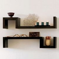 S-shaped shelf Living room display wall shelf FR014 thumbnail image