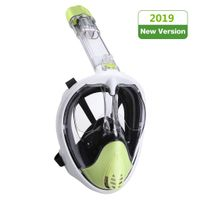 Snorkel Mask Full Face, Snorkeling Mask for Kids & Adults with Detachable Camera Mount, Foldable 180 thumbnail image