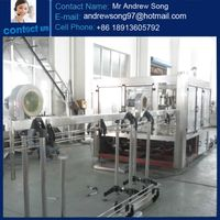 Automatic carbonated soft drink machine, Fizzy drink production line machine