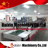 three side sealing stand-up zipper bag making machine