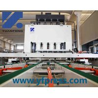 Germany technology short cycle laminating press for woodworking