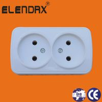 EU Double Way Wall socket (S6209)