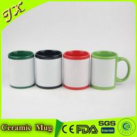 Wholesale China custom ceramic sublimation mug