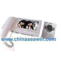 7 inch color video intercom door phone