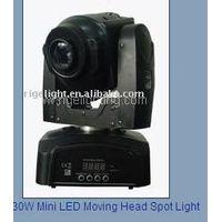 30W Mini LED Moving Head Spot Light thumbnail image