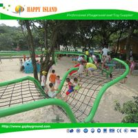 2015 High Quality Newest Design Of Large-Scale Climbing Nets For Kids Outdoor Net Climber For Playin