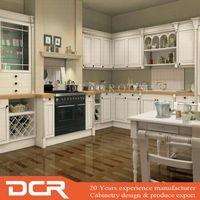 Asian Ready Made White Woodern kitchen cabinets