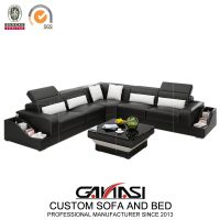Small Size Economical L Shape Corner Sofa for Business Office