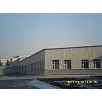 High-qualified steel structure workshop for Xinhua printing factory/workshop