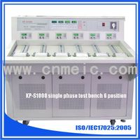 Single phase 6 position test system for energy meter calibration thumbnail image