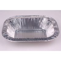 Rolled Edge Oblong Disposable Aluminum Foil Food Container BBQ Grill Tray Party Pan Instant thumbnail image