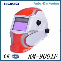 High Quality Low Price Auto darkening welding mask/helmets ideal for MMA TIG MIG PAC PAW CAC-A thumbnail image