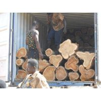 A grade okan wood logs for sale.