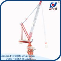 10t Luffing Tower Crane D125 5020 or 4526 45m or 50m Boom for High Buiding Construction