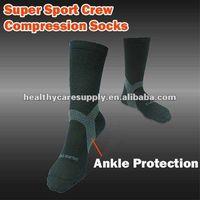 Super Sport Crew Compression Socks