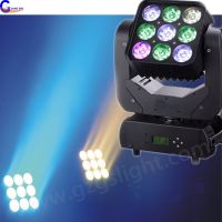 Stage Effect Disco Lighting DMX 9PCS10W LED Matrix Moving Head Light thumbnail image