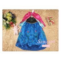 hot sell frozen girl dress  princess partly dress thumbnail image