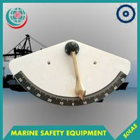 Marine Nautical Clinometer,Brass Clinometer