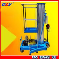 Aluminium Alloy Single Mast Lift Platform
