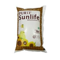 REFINED SUNFLOWER OIL 1LTR POUCH (PACK OF 12)