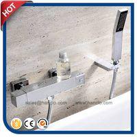Square Thermostatic Bathtub R Mixer (HC18125F) thumbnail image
