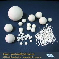 high alumina grinding ball for ceramic (abrasion rate9,Al2O3>92%)