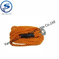 warn winch rope synthetic winch rope, towing rope, car tow rope,SUV tow rope,4x4 accessories tow rop