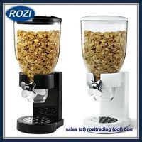 Single Cereal Dispenser Dry Cereal Kitchen Food Snack Storage Dispenser thumbnail image