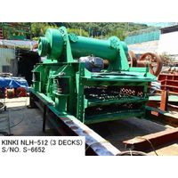 RECONDITIONED & REPAINTED KINKI HORIZONTAL TYPE 5FT X 12FT (3 DECKS) VIBRATING SCREEN S/NO. S-6652 thumbnail image