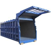 EOS-ENVIRO Hook Lift Container for Stationary Press