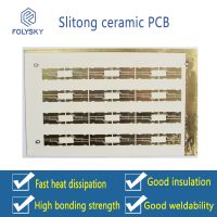 Ceramic circuit boards for direct selling of high power electronic products