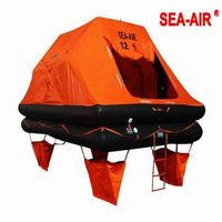 YACHR OR LEISURE THROW OVER BOARD SELF RIGHTING LIFE RAFT