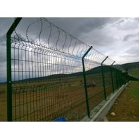 Flat wrap razor wire ------- WM Wire Industrial