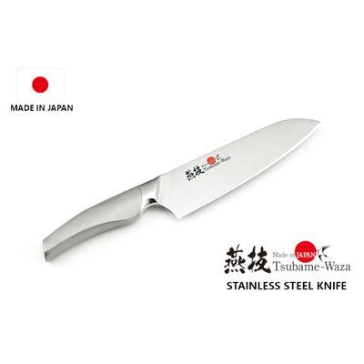 Japan-Made Santoku Stainless Steel Kitchen Knife 170mm kitchen knives cookware houseware