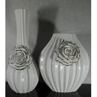 ceramic vases, flower ceramic fruit plate ceramic ornaments