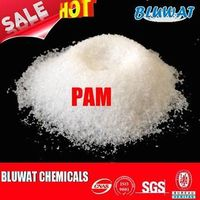 Anionic PAM / Polyelectrolyte Powder For Soil Stabilization And Cement Making