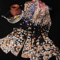 fashion georgette islamic long scarf