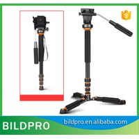 BILDPRO L401 Professional Aluminum Camera Photography Stand Extending Monopod