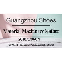 2018 Guangzhou Shoes Material Machinery and Leather Fair