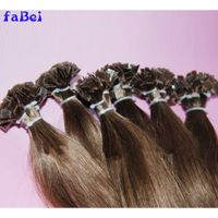 1g/Root Forever Factory Price Keratin Pre-Bonded Remy Human Hair Double Drawn Cheap Hair Extension thumbnail image