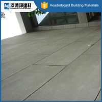Factory supplier newest fine quality compressed fibre cement board flooring from China