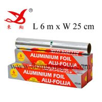 Cooking Foil For Food Cooking & Wrapping, ( L 6 m x W 25 cm )