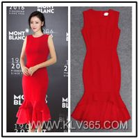 Latest Dress Design Women Fashion Elegant Mermaid Evening Dress