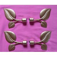 Leaf Finial Curtain Pole