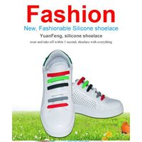 No Tie Shoelaces Easy Tie Elastic Silicone Shoe Laces for Kids