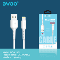 BWOO 1M USB Data Cable for Mobile Phone BO-X130