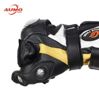 Thickened leather keep warm Motorcycle Pro-biker Gloves thumbnail image