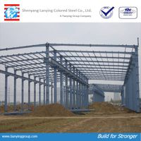 steel structure workshop fabrications plant wholesale china