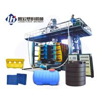 2000-5000L Double Layers Full Automatic Hollow Blow Molding Machine