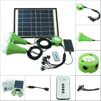 Portable energy saving solar home lights